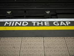 mind the gap underground floor