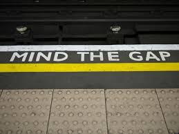 mind the gap underground floor