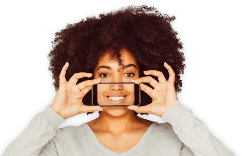 selfie photo Confident Virtual Smile Report